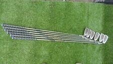 Kunnan stiff graphite golf irons clubs set - 4 - 9 iron  - 4,5,6,7,8,9