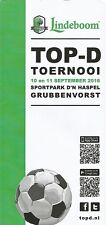 GRUBBENVORST TOERNOOI 2016 Incl LIVERPOOL and Others