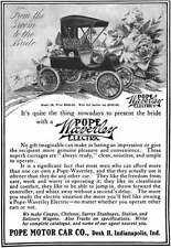 Pope c1915 - Pope Waverly Electric Car Ad - Pope Waverley Model 36