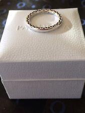 Genuine argento 925 classico Cuori di Pandora Ring Taglia 52