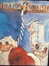 "William Kentridge ""Charlotte Saloman's Life"" Modern South African Art 35mm Slide"