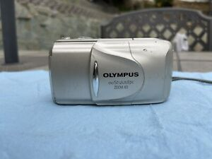Olympus Infinity Stylus Epic Zoom 80 DLX Deluxe 35mm Film Point & Shoot Camera