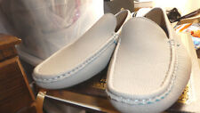 MEN'S Phat Classic NWOB LIGHT GRAY MOCCASINS shoes size 10.5 M