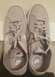 Nike Court Legacy Canvas 'College Grey' Men's Shoes   CW6539 001 New