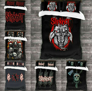 Slipknot Bedding Set 3PCS Duvet Cover Pillowcase Comforter Cover Quilt Cover