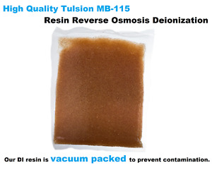 Tulsion Ion Exchange DI Resin MB-115 for RO Aquariums Vessels Window Cleaning