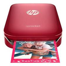 *BRAND NEW* HP - Sprocket 100 Photo Printer Smartphone Printer - Red