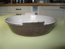 PLAT A GRATIN (PLAT A OEUFS) EN FONTE LE CREUSET N° 18 MARRON