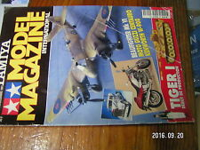 1µ?a Revue Tamiya Model Magazine n°30 Tiger I Guzzi Centauro Kenworth W-900