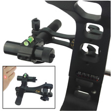 Archery Dot Laser Sight Compound Bow Bore Sight Beam Scope Rail Target Shooting
