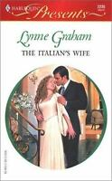 The Italian's Wife by Graham, Lynne