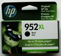 Genuine HP 952XL Black Ink Cartridge High Yield (F6U19AN) - EXP 2022/2023