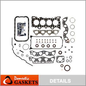 Fits 96-00 Honda Civic De So 1.6 SOHC MLS Full Gasket Set D16Y7 D16Y8 D16B5