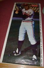1984 Taystee Bread 6 Foot Vintage Minnesota Twins Baseball Poster John Castino