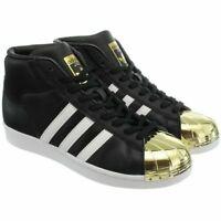 Adidas ProModel Metal Toe women high-top sneakers leather black RRP £100.00