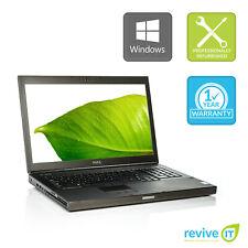 Dell Precision M6800 Laptop  i7 Quad-Core 8GB 256GB SSD Win 10 Pro B v.WCA