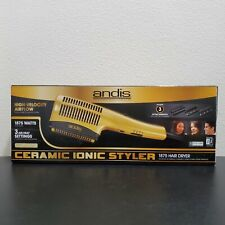 New Andis Ceramic Ionic Styler Hair Dryer Gold HS-2 1875W