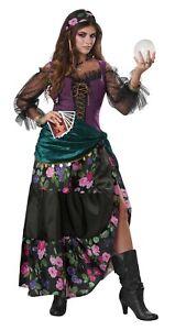 Adult Mystical Charmer Gypsy Fortune Teller Costume Halloween