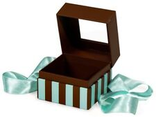 3 Petite Gourmet Window Presentation Box For Wrapped Candy, Wedding Favor, Gift
