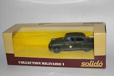 SOLIDO MILITARY #6033 CHEVROLET U.S. ARMY MILITARY HQ STAFF CAR, 1:50, NIB