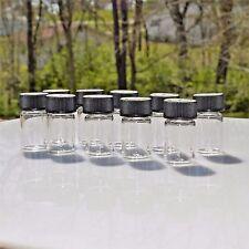 50 Empty Glass Vial Bottle 5 Dram 1/2 oz 18.5 ml Supply Essential Oils Potions