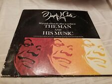 Nat King Cole The Man and His Music Vinyl Record Double LP w/ Booklet