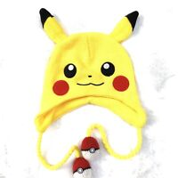 BIOWORLD Pokemon Go Pokeball Pikachu Laplander Hat Cap Beanie Brand New No Tag