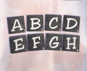 Wooden Scrabble Tiles, Wall Art, Personalized Scrabble, Personalized Wall Decor