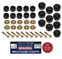 BODY MOUNT KIT WITH BOLTS AND WASHERS SUIT HQ HJ HX HZ WB UTE & VAN SANDMAN