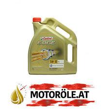 5 L LITER CASTROL EDGE 5W-30 LL MOTOR-ÖL MOTOREN-ÖL VW AUDI MB LONGLIFE 4