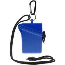 Witz Surfsafe Lightweight Waterproof Sport Case w/ Lanyard & Carabiner - Blue