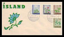 Iceland 1964 FDC, Flowers III. Lot # 18.