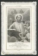 Santino Canivet antico antique holy card Ch.Letaille PL.312 St.Joseph H053