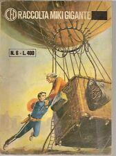 CAPITAN MIKI -ED. DARDO-raccolta serie alternata N° 6 - originale 197? -