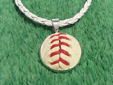Baseball Necklace Pendant Made From a Real Baseball