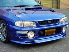 Subaru Impreza Parachoques Delantero Splitter/labio/CENEFA/Spoiler 1992-2000 - Nuevo!