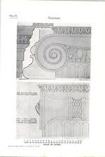 1928-PHOENIX FIRE ufficio Welford luogo Leicester COLONNA dettaglio AJ legno