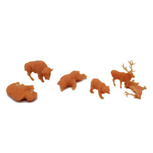 Outland Models Miniatur Amerikanische Grenze Tierwelt Figurenset 1:72