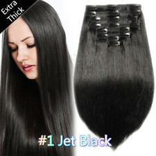 Mega Thick Double Weft Clip in Human Remy Hair Extensions Full Head Ombre P803