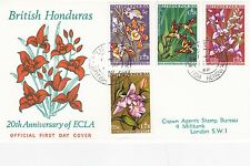 British Honduras 1968 20th Anniversary of ECLA FDC Good Condition