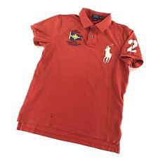 Polo Ralph Lauren Big Pony Ruby Shirt Custom Fit Medium Embroidered Yacht Club