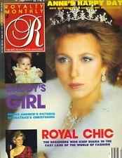 PRINCESS ANNE UK Royalty Magazine 2/89 Vol 8 No 5 BEATRICE PRINCESS DIANA