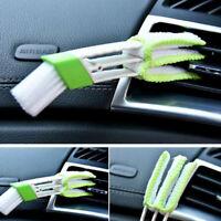 Brosse de nettoyage de soin de voiture pour la fente de climatiseur outils_ftfw
