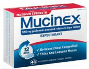 Mucinex Max Strength Tablets, 48 Count