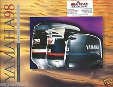 Boat Motor Brochure - Yamaha - Product Line Overview - Outboards - 1998 (SH81)