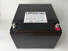Lithiumax Black Series 850CCA Car or Boat Battery, LiFePo4, Lithium, with BMS