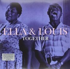 Ella and Louis Together  LP  Vinyl 180g 2 LP Gatefold