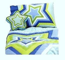 TODDLER BED SIZE - Little Miss Matched - Superstar 4-Pc REVERSIBLE BEDDING SET