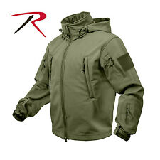 Rothco 9745 Waterproof Special OPS Tactical SoftShell Jacket Cold Weather Olive
