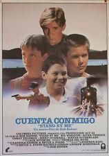 Cuenta conmigo -- Cartel de Cine Original --